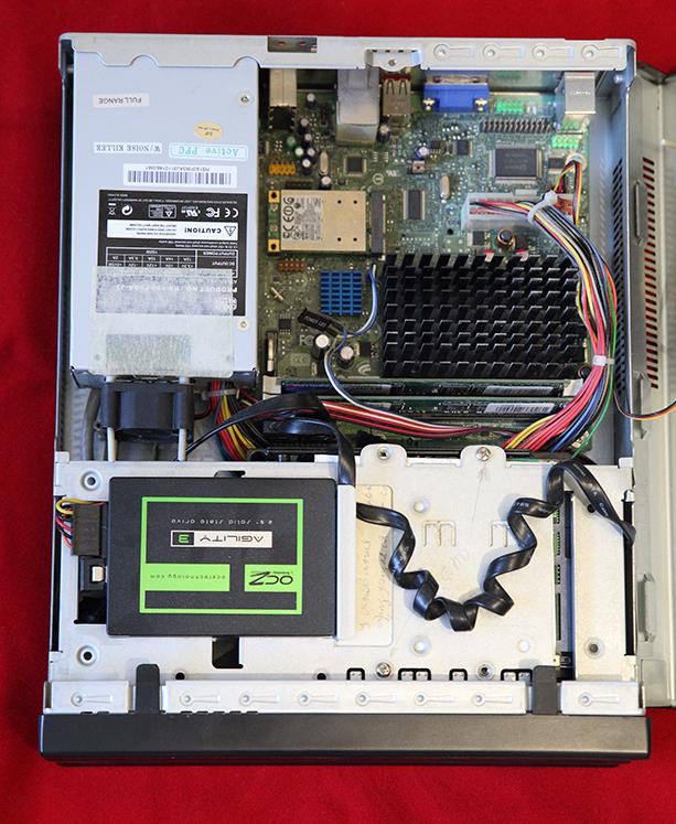 Старый вариант сервера с Intel D510MO