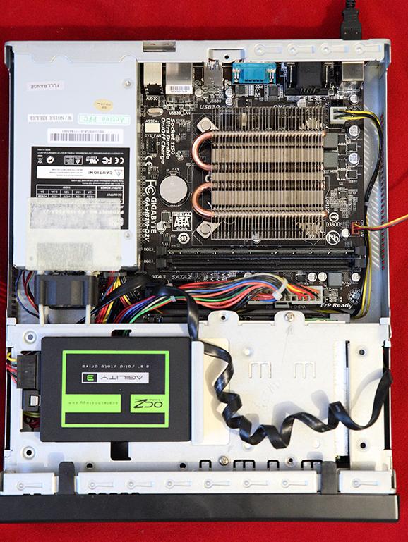 Новый вариант компактного сервера
